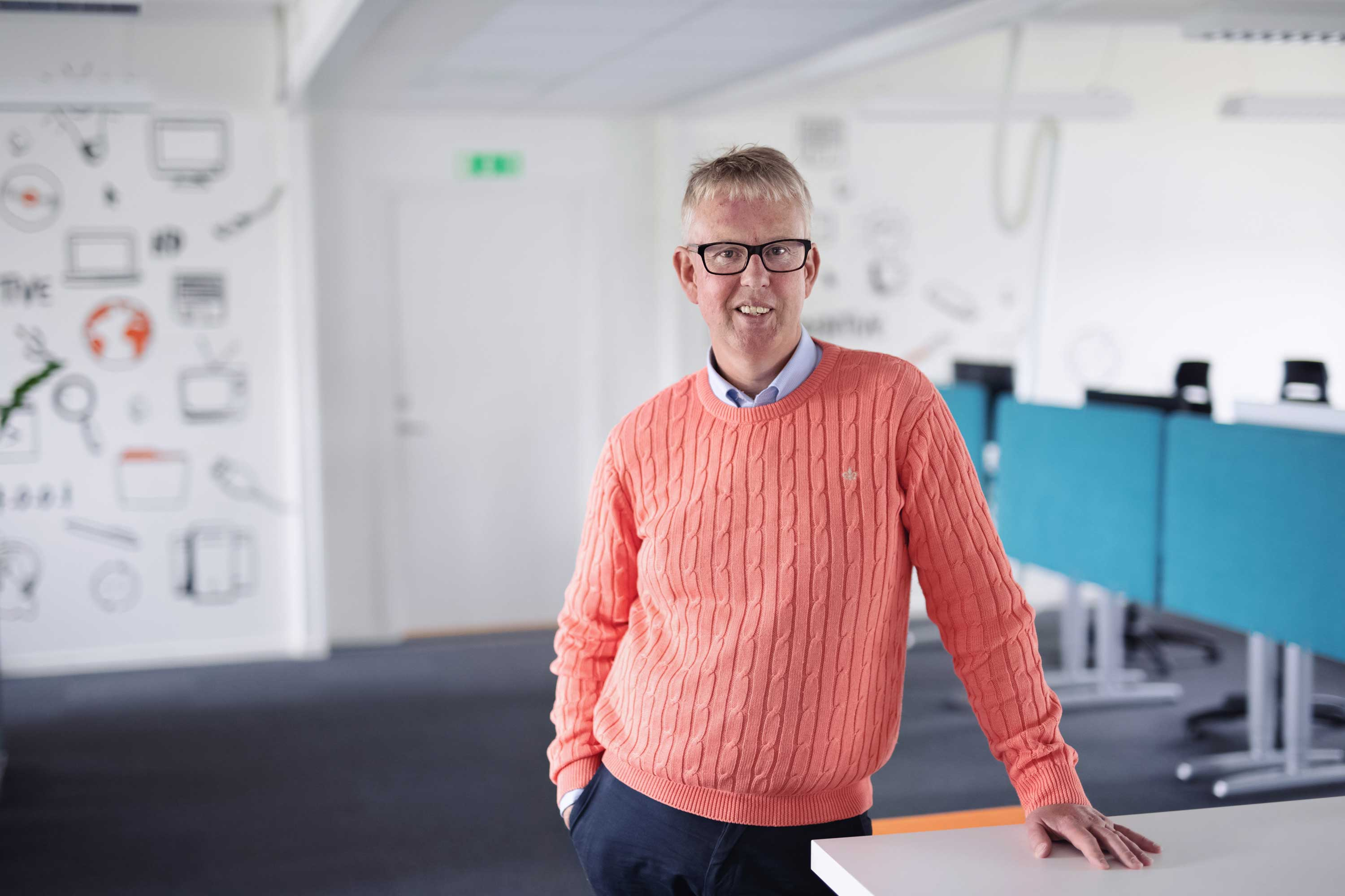 Indentive CEO Anders Visell
